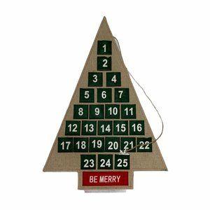 Threshold Advent Calendar Christmas Holiday Wood